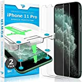 Power Theory iPhone 11 Pro Screen Protector [2-Pack] with Easy Install...