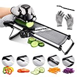 Mandoline Food Slicer Adjustable Thickness for Cheese Fruits...