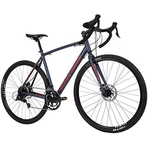 Royce Union Men's Gravel Bike Aluminum, 18 Speed, 700c Tires, Matte...