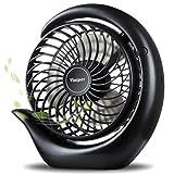 viniper Battery Operated Fan, USB Desk Fan : 180° Rotation and 3...