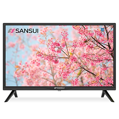 SANSUI 24 Inch TV 720P Basic S24 LED HD TV High Resolution Flat Screen...