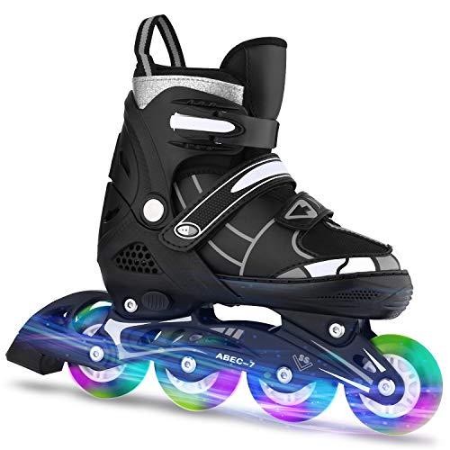 ANCHEER Inline Skates Adjustable Women Men Kids Roller Skates for...