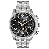 Citizen Men's Eco-Drive World Time Atomic Timekeeping Watch with...