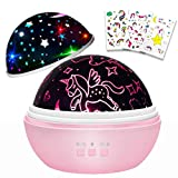 Unicorns Gifts for 3-8 Year Old Girls,Star Projection Cool Kids Gifts...