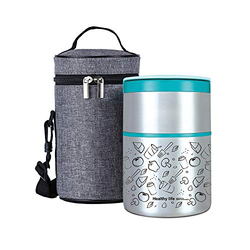 Lille Home Vacuum Insulated Stackable Stainless Steel Thermal...