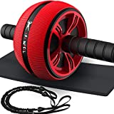 Bssay Ab Roller, Home Abdominal Exercise Equipment Core Workout...
