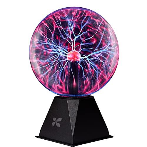Katzco Plasma Ball - 7 Inch - Nebula, Thunder Lightning, Plug-in - for...