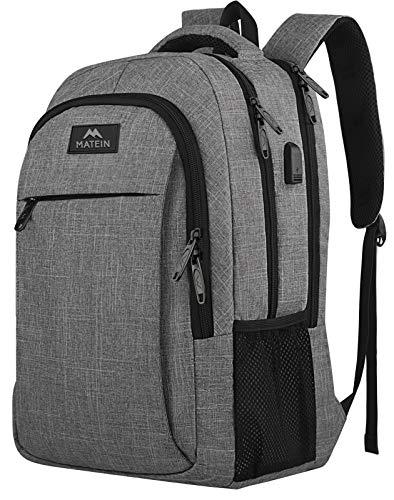 Matein Travel Laptop Backpack, Business Anti Theft Slim Durable...