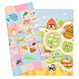 Baby Care Play Mat - Playful Collection (Busy Farm, Large) - Play Mat...