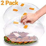 2 Pack - Microwave Plate Cover,Microwave Cover for Food,Microwave...
