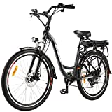 ANCHEER 26' Aluminum Electric Bike, Adults Electric Commuting Bicycle...