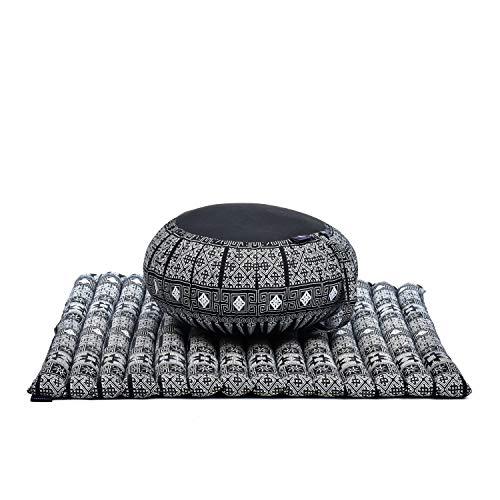 Leewadee Zafu and Zabuton Kapok Meditation Set, 30x28x10 inches , CBT4...