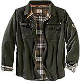 Legendary Whitetails Men's Journeyman Shirt Jacket, Dark Army, Small