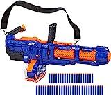 NERF Elite Titan CS-50 Toy Blaster -- Fully Motorized, 50-Dart Drum,...