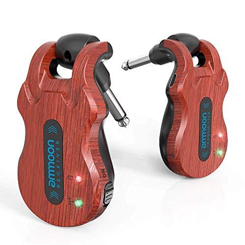 ammoon Wireless Guitar Transmitter Receiver 5.8 Ghz Guitar Wireless...