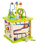 Country Critters Wooden Activity Play Cube by Hape | Wooden Learning...