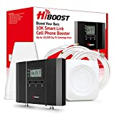 HiBoost Cell Phone Signal Booster for Home with Smartphone APP, Up to...