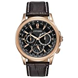 Citizen Eco-Drive Calendrier Quartz Mens Watch, Stainless Steel with...