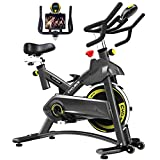 Cyclace Indoor Exercise Bike Stationary Cycling Bike with Ipad Holder...