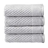 100% Cotton Quick-Dry Bath Towel Set (30 x 52 inches) Highly...
