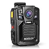 Body Worn Camera with Audio 64GB, BOBLOV 1296P Police Body Cameras for...