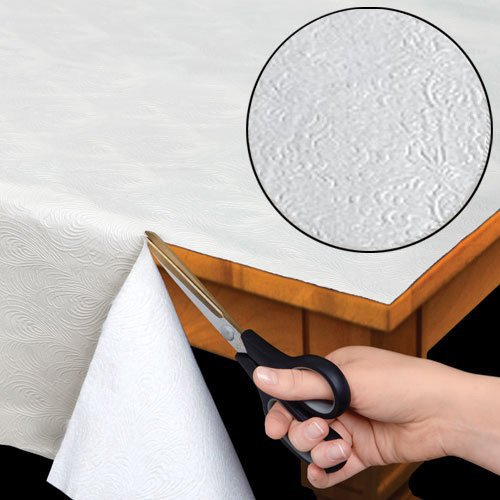 Home Bargains Plus Quilted Heavy Duty Table Pad Protector with Flannel...