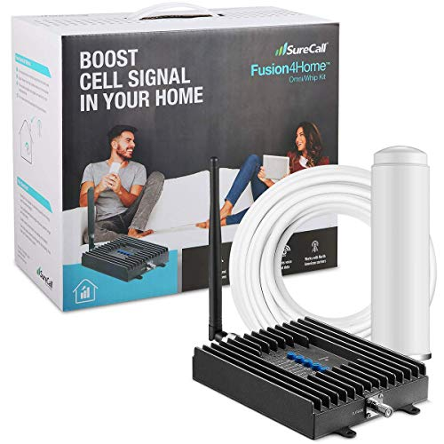 SureCall Fusion4Home Cell Phone Signal Booster for Home and Office |...