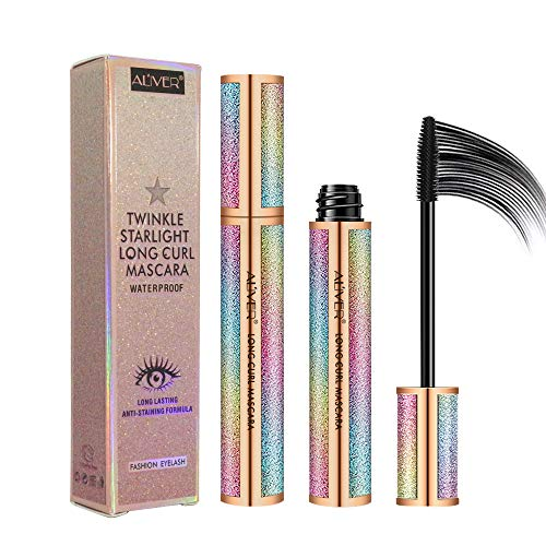 4D Eyelash Mascara,Waterproof Mascara, Thicker, Voluminous Eyelashes,...