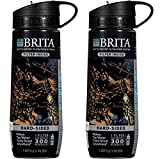 Brita Black Camo Hard Sided Water Bottle With Filter 23.7 Ounce (Pack...