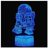 3D Optical Illusion Night Light, Visual Creative LED Desk Lamp Touch...
