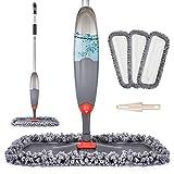 Spray Mop for Floor Cleaning, Domi-patrol Microfiber Floor Mop Dry Wet...