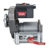 WARN 38631 M8274-50 Electric 12V Winch with Steel Cable Wire Rope:...