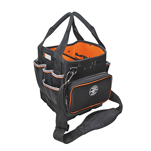 Klein Tools 5541610-14 Tool Bag with Shoulder Strap Has 40 Pockets for...