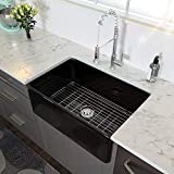 33 Farmhouse Sink Black - Lordear 33 Inch Kitchen Sink Apron-Front...