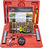 Boulder Tools - Heavy Duty Tire Repair Kit for Car, Truck, RV, SUV,...