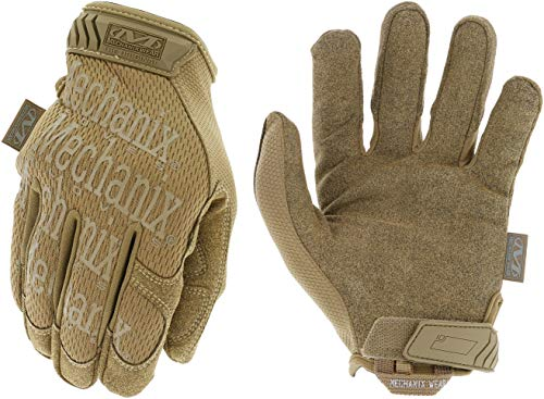 Mechanix Wear MG-72-010 'The Original' Large Coyote Gloves,Brown