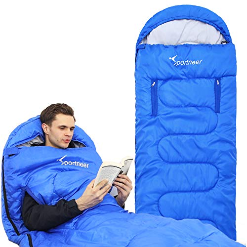 Sportneer Sleeping Bag Wearable Lightweight Waterproof Sleeping Bags...