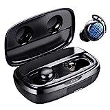 Wireless Earbuds, Tribit 100H Playtime Bluetooth 5.0 IPX8 Waterproof...