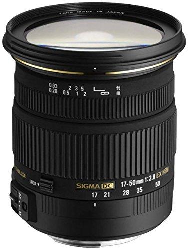 Sigma 17-50mm f/2.8 EX DC OS HSM FLD Large Aperture Standard Zoom Lens...