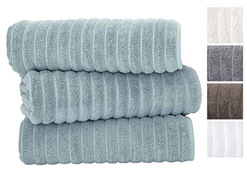 Classic Turkish Towels Luxury Bath Towel Set - Soft and Thick...