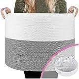 Blanket Baskets/Toy Baskets - Designer 22' Blanket Storage Basket +...