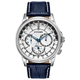 Citizen Men's Eco-Drive Calendrier Watch with Day/Date, BU2020-02A