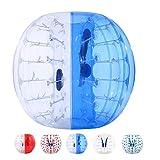 YUEBO Bumper Bubble Soccer Balls for Kids/Adults, Body Zorb Ball Dia...