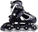 MammyGol Adjustable Inline Skates for Kids with Light up...