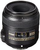 Nikon AF-S DX Micro-NIKKOR 40mm f/2.8G Close-up Lens for Nikon DSLR...