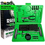 Rhino USA Tire Plug Kit (86-Piece) Repair Punctures & Fix Flats with...