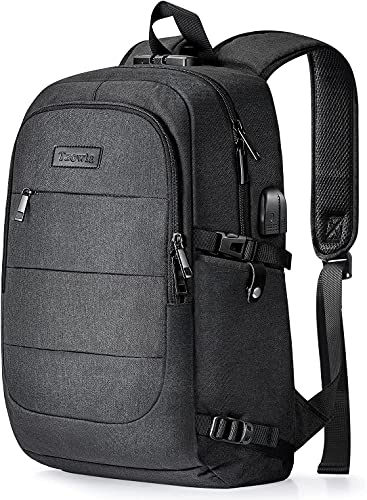 Travel Laptop Backpack Water Resistant Anti-Theft Bag with USB...