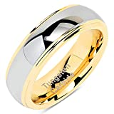 100S JEWELRY Engraved Personlized 6mm Tungsten Rings for Men Women...