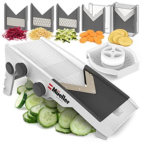 Mueller Austria Multi Blade Adjustable Mandoline Cheese/Vegetable...