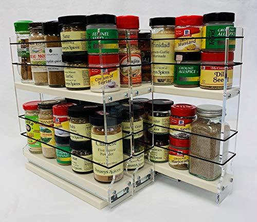 Vertical Spice - 222x2x11 DC - Spice Rack - Cabinet Mounted- 3 Drawers...